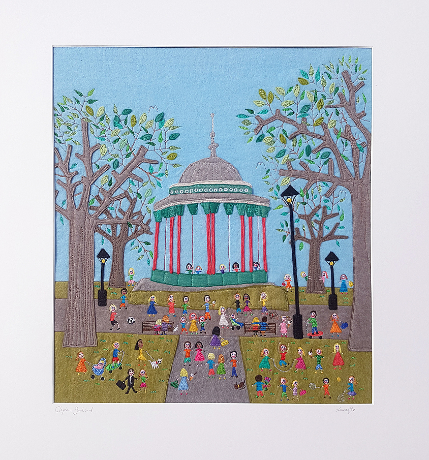 clapham bandstand artwork